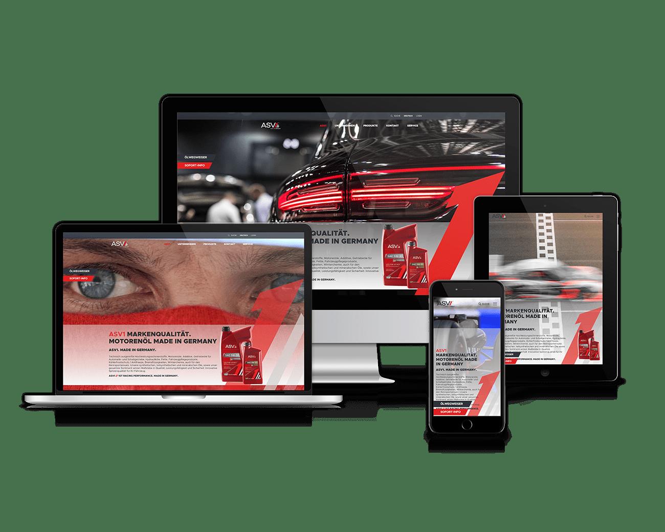 jung und billig werbeagentur asv1 webdesign - Markenidentität