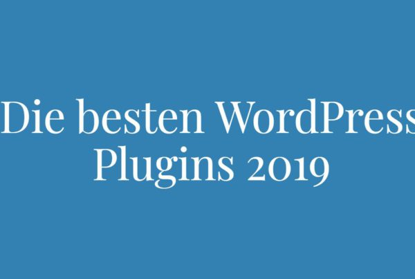 wordpress plugins 2019