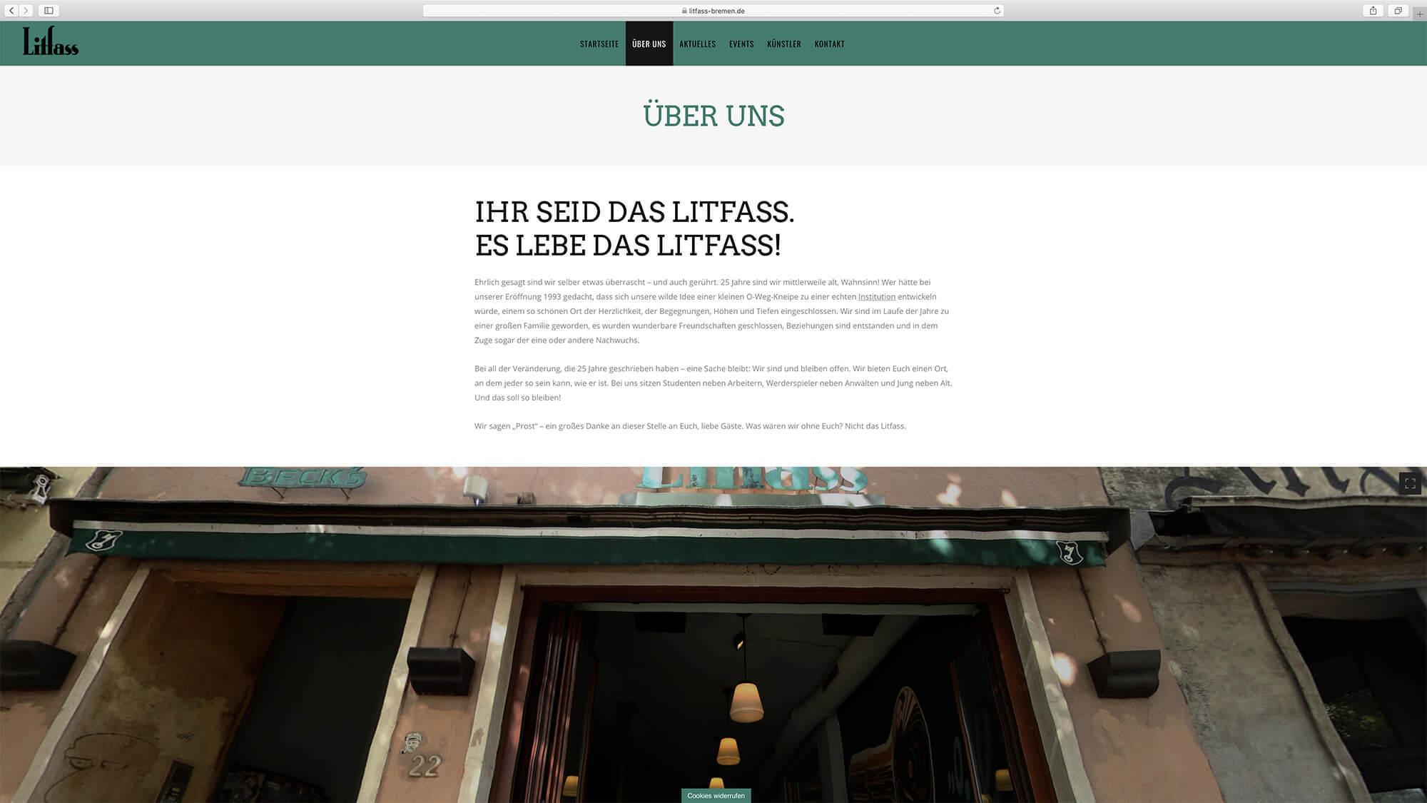 jung und billig werbeagentur litfass bar bildschirm5 - Litfass Bremen
