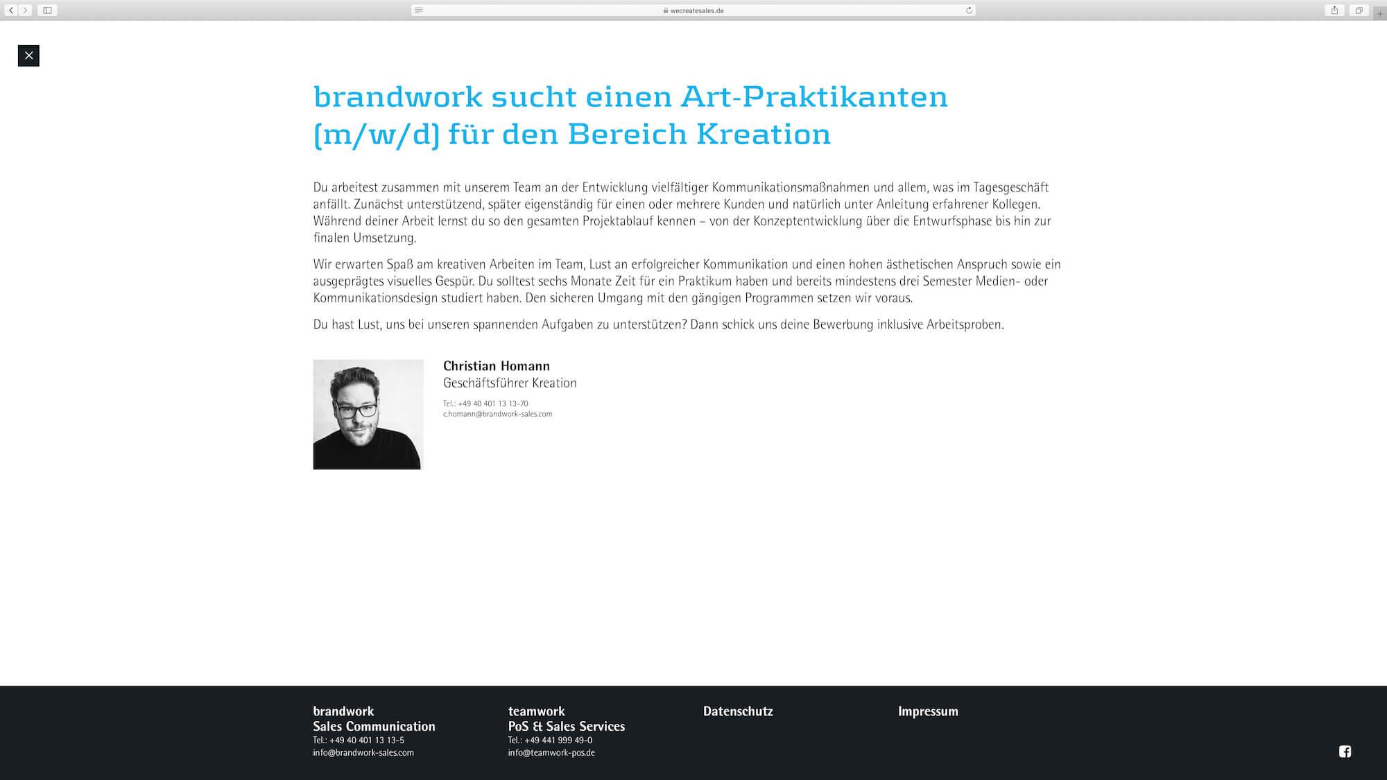 jung und billig werbeagentur we create sales brandwork 8 - Brandwork