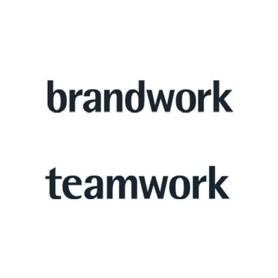 jung und billig werbeagentur we create sales brandwork logo - Brandwork