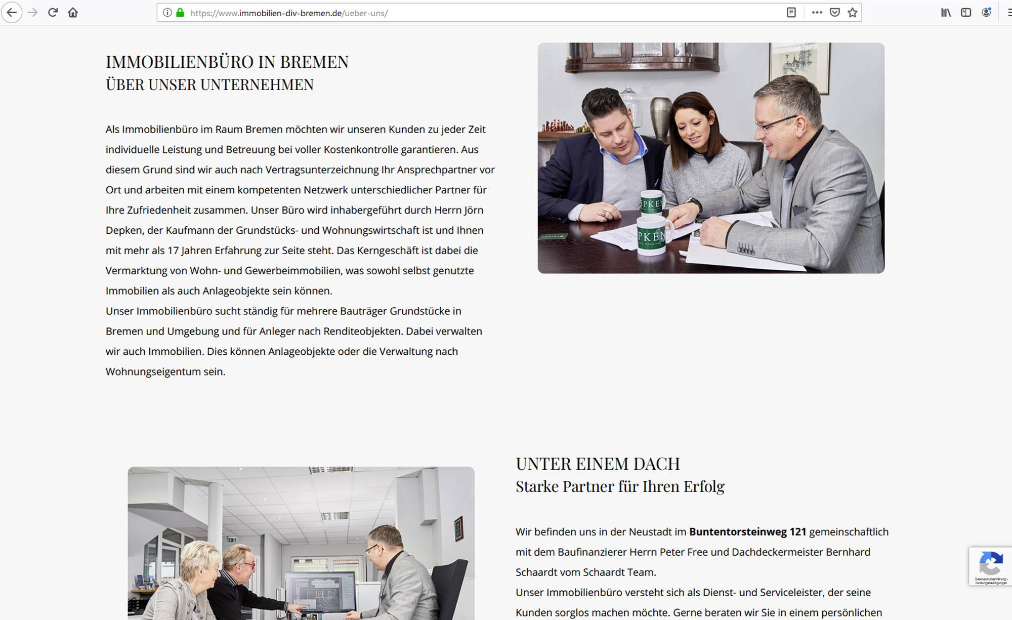 jung und billig werbeagentur depken 4 - Depken Immobilien & Verwaltung