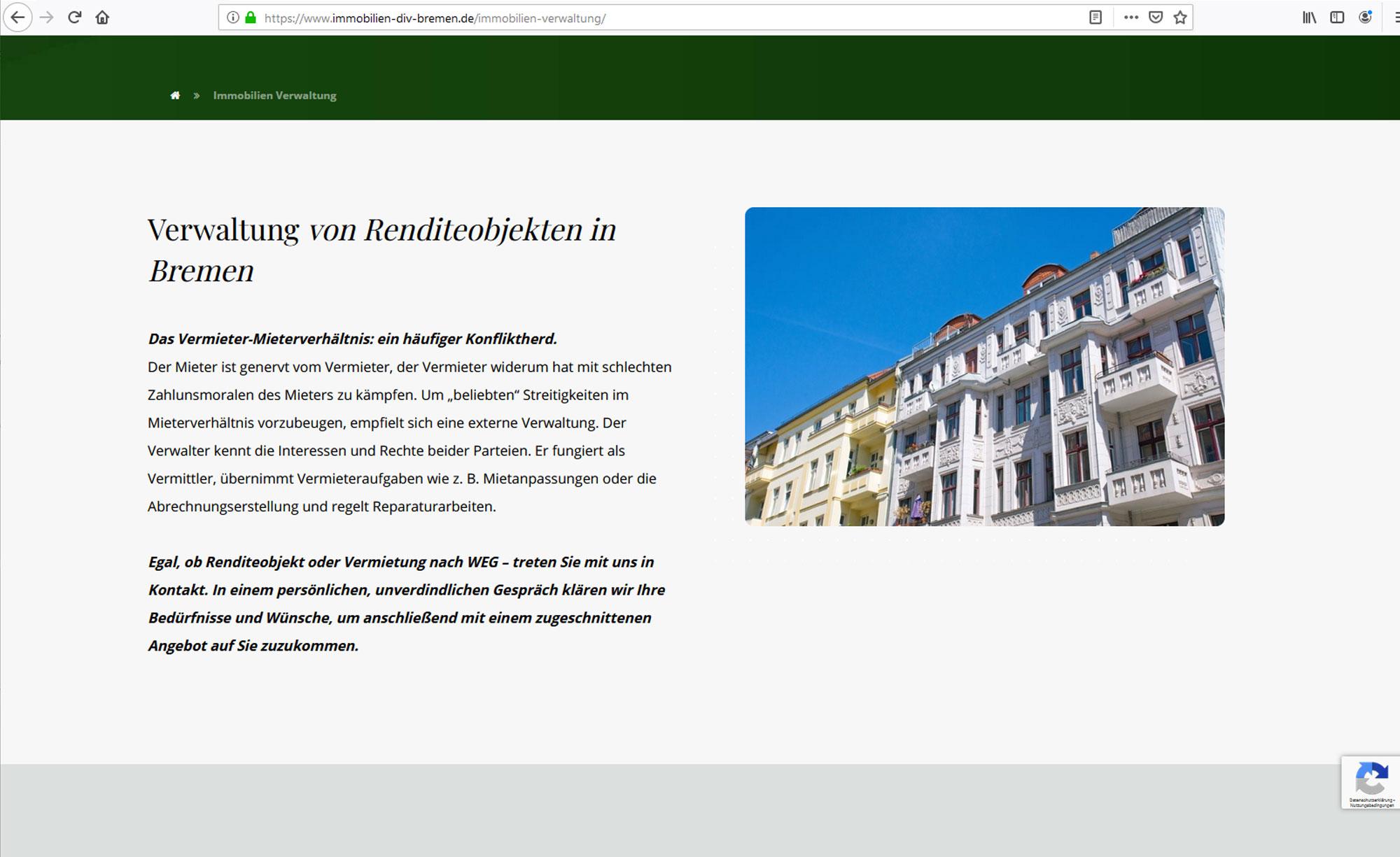 jung und billig werbeagentur depken 5 - Depken Immobilien & Verwaltung