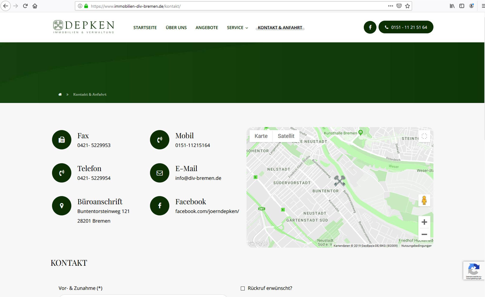 jung und billig werbeagentur depken 6 - Depken Immobilien & Verwaltung